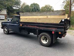 1987 Chevy C30 2 Wd Dump Truck Collector Classic 73k Miles