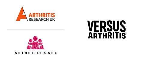 brand new new name logo and identity for versus arthritis by re