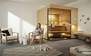 Sauna Für Badezimmer : luxus pur wellnessbad mit sauna ~ Lizthompson.info Haus und Dekorationen