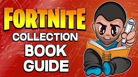 fortnite collection book guide fortnite save  world