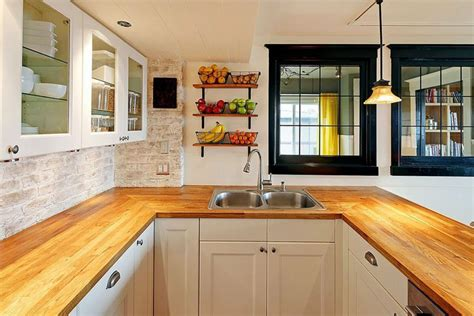 Wood Kitchen Countertops (design Ideas) L Shaped Living Room Dining Rooms Modern Wall Decals Lighting Diy Furniture Eclectic And The Cafe Holywood Horse In Vine Aarons Prices