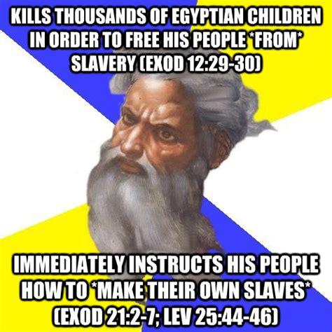 Slavery Memes - god xkv8r the official blog of robert r cargill ph d