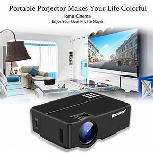 Projecteur Home Cinema : lcd projecteur multim dia 1080p home cin ma vid oprojecteur vga hdmi usb ps4 fr ebay ~ Preciouscoupons.com Idées de Décoration