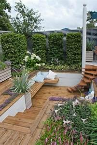Salon Exterieur En Bois : banc bois exterieur pas cher ~ Premium-room.com Idées de Décoration