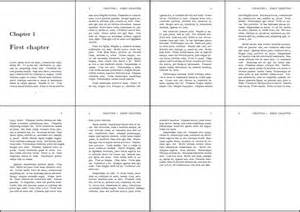 A4 4 Page Booklet Template Printable