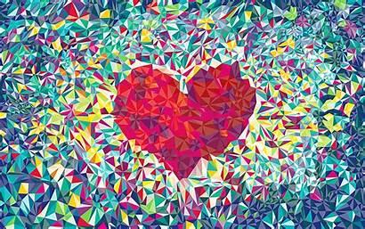 Abstract Desktop Background Heart Pattern Patterns Bokeh
