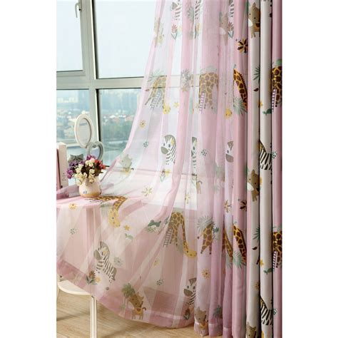 purple tree print polyester country short bay window curtains