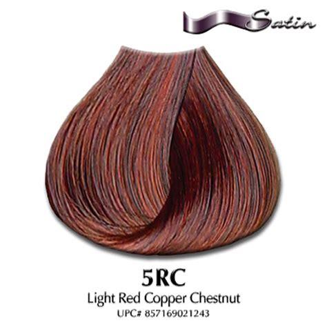 satin hair color product reviews satin hair color 5rc light copper