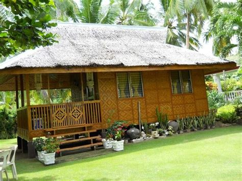 bahay kubo bamboo house design philippine houses simple house design