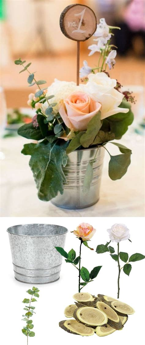 Best 25 Bucket Centerpiece Ideas On Pinterest Cupcake