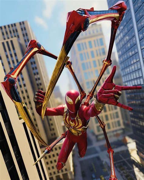 spider man  instagram  iron spider suit