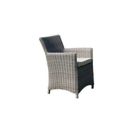 fauteuil de jardin en resine tressee fauteuil de jardin en r 233 sine tress 233 e el 233 gance gris leroy merlin