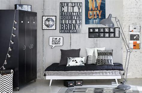 chambre ado style industriel idée déco chambre garçon deco clem around the corner