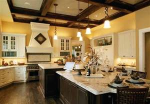 Large Kitchen Plans Home Plans With Big Kitchens At Eplans Spacious Floor Plan Designs