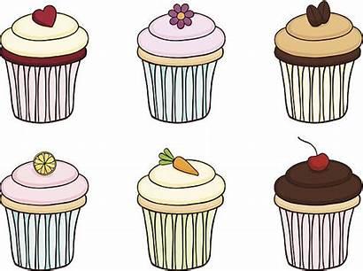Vector Velvet Cake Clip Cupcake Illustrations Similar