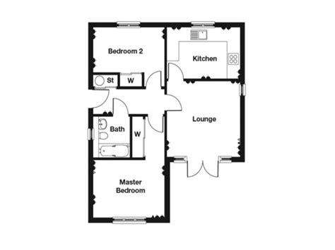 bedroom bungalow floor plan  bedroom house plans