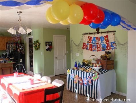 Jake And The Neverland Pirates Party Decorations