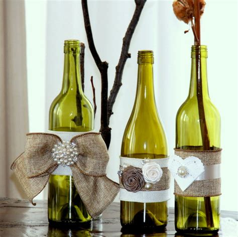 Decorative Wine Bottles For Wedding by Decorating Glass Bottles Modern Magazin