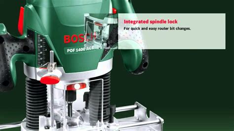 features of the bosch pof 1400 ace router