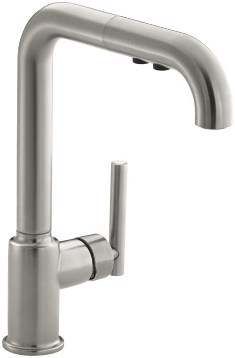 kohler faucet aerator removal kohler k 7505 vs vibrant stainless single handle pullout