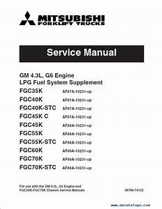 Mitsubishi Gm 4 3l  G6  Engine Service Manual Pdf
