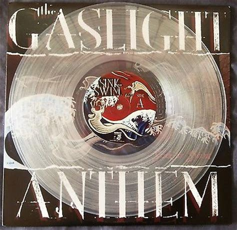 popsike com the gaslight anthem sink or swim rare clear