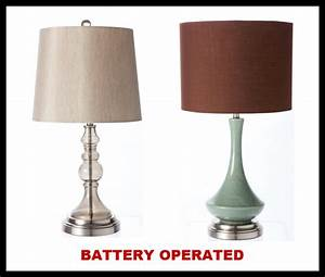 battery operated table lamps 2017 2018 best cars reviews With cordless lamps pottery barn