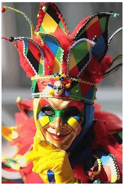 Arlecchino Venecia Carnival Commedia Del Carnaval Arte