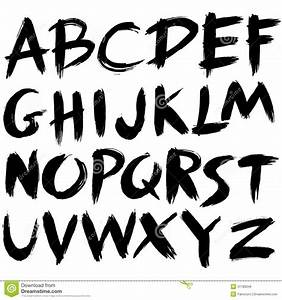 thick paint stroke google search fonts pinterest With best paint brush for lettering