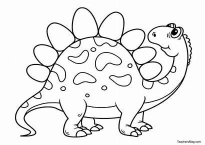 Dinosaur Printables Coloring Preschool Fun Teachersmag