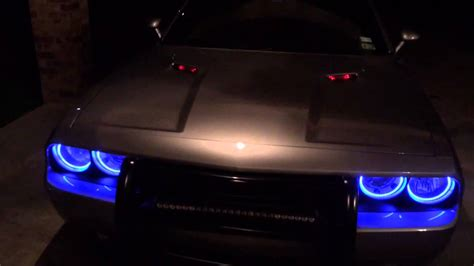 easy install halos   dodge challenger  youtube