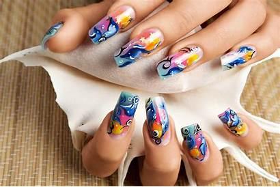 Nails Nail Acrylic Colori Corso Pittura Unghie