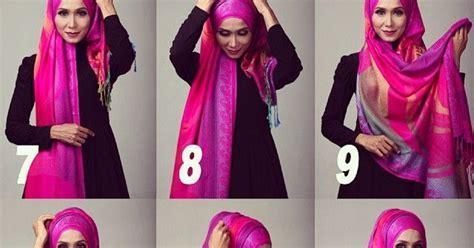 tutorial hijab pashmina sutra hijab trendz fashion