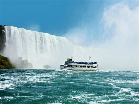 Niagara Falls Boat Tours Usa by Of The Mist Boat Tour Info Address Phone Number