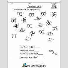 Printable Kindergarten Math Worksheets  Education  Kindergarten Math Worksheets, Kindergarten