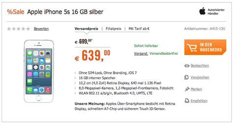 iphone 5s preis ohne vertrag iphone 5s ohne vertrag billiger ohne simlock netlock