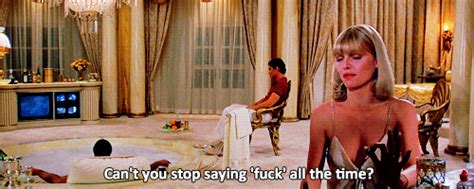 Scarface Bathtub Script by Scarface Quotes Gifs