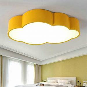 Led cloud kids room lighting children ceiling lamp