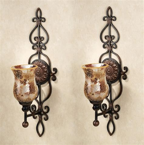 large candle wall sconces metal wall sconces ideasplataforma
