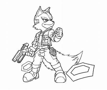 Coloring Fox Printable Theft Grand Head Commander