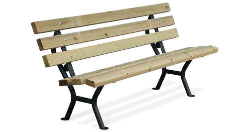 in the panchina panchina arredo urbano realizzata in acciaio e listoni in