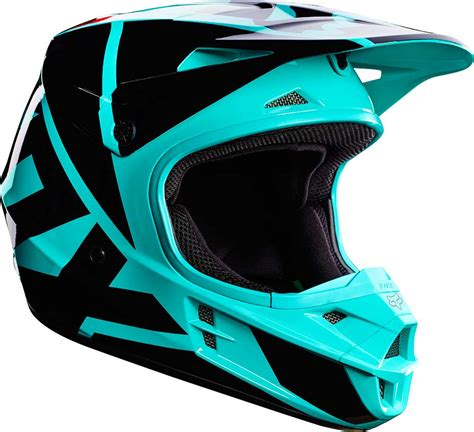 mens motocross 2017 fox racing v1 race helmet motocross dirtbike