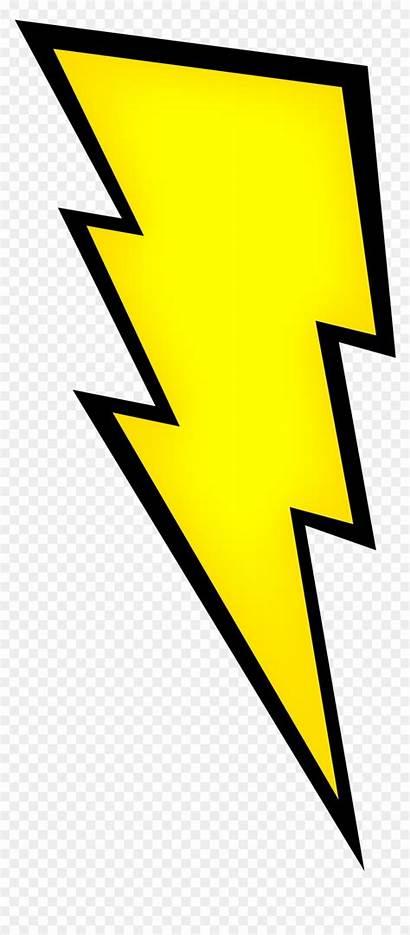 Lightning Bolt Clipart Cliparts Yellow Vhv
