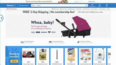 Walmart Website Redesign Alternative Shopping Experience Launches