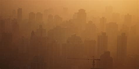 chinas pollution wafting  pacific