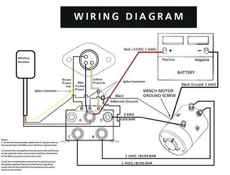 diagram warn winch solenoid diagram