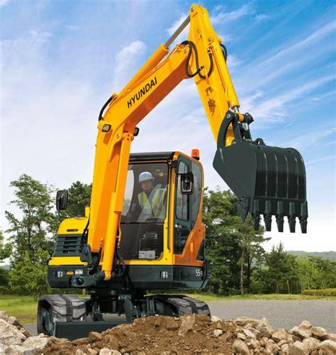 hyundai excavators   alat berat   midi excavator