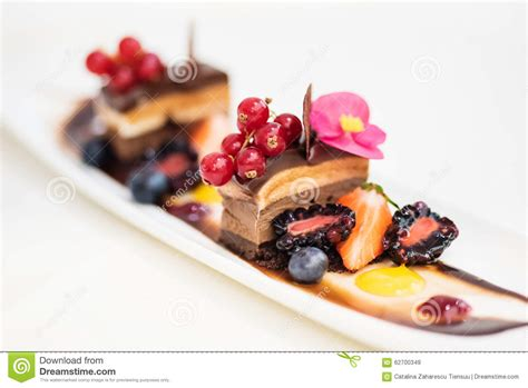 cuisine dessert chocolate dessert stock photo image 62700349