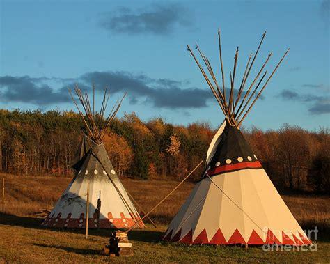 Native American Indian Art Tepee