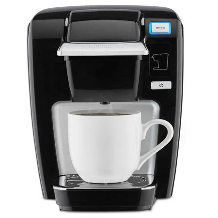 For those who value convenience over taste. Keurig K-Mini K15 Single Serve Black K-Cup Coffee Maker - Walmart.com
